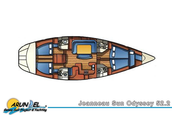 JEANNEAU SUN ODYSSEY 52 12